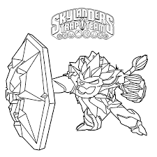 skylanders trap masters coloring pages