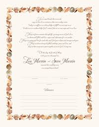 quaker style wedding certificates and commitment ceremony