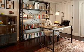 Bookcase Black Wood Bookshelf Extraordinary Industrial Bookcases Exciting Industrial