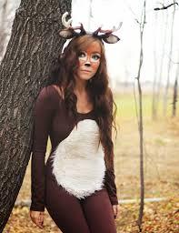 Halloween Cheetah Costumes Deer Costume Tutorial Fawn Costume Ideas Dress