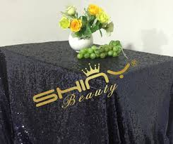 elegant table linens wholesale elegant middle night blue 50 50 sequin tablecloth sequin