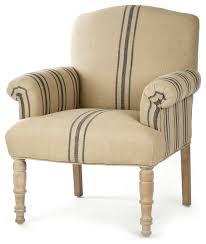 linen club chair rama country blue stripe linen club chair traditional