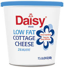 How Much Fiber In Cottage Cheese by Cottage Cheese Daisy Brand