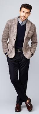 blazer sweater s brown knit blazer navy v neck sweater grey sleeve