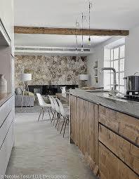 idee tapisserie cuisine idee tapisserie salon salle a manger pour decoration cuisine moderne