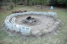 concrete fire pit exploding wonderful concrete fire pit ideas garden landscape
