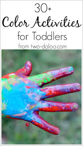 30 color activities for toddlers