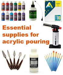 what type of paint do you need for kitchen cabinets supplies you need to get started with acrylic pouring