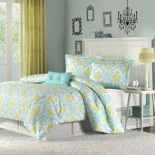 Vera Bradley Bedding Sets Shop Mizone Katelyn Teal Bed Set The Home Decorating Company