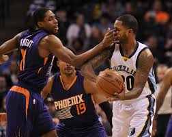 memphis grizzlies host phoenix suns in potential cage match