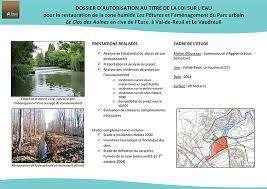 bureau d udes hydraulique dossier loi sur l eau alise environnement bureau d études