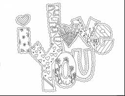 beautiful valentines day coloring pages with printable valentine