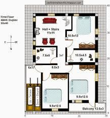 floor plan for 30x40 site floor plan r bhk duplex x north f bedroom house plans floor plan