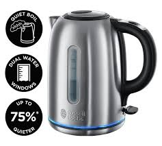 Russell Hobbs Purple Toaster Buy Russell Hobbs 20460 Buckingham Quiet Boil Kettle S Steel