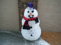 diy how to make snowman in florida youtube