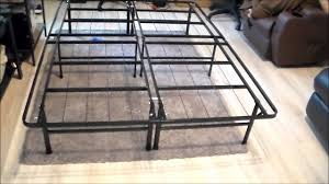 best price mattress dual use steel bed frame foundation youtube
