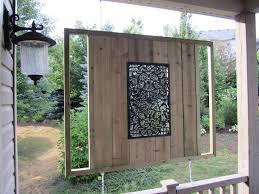 diy outdoor metal wallg patio decor ideas outstanding wall picture