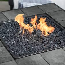 Backyard Propane Fire Pit by Uniflame Lp Gas Ceramic Tile Fire Pit Table Walmart Com