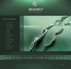 website template 15927 jewelry brand watch custom website