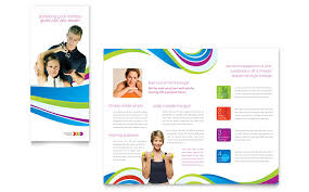 free template for brochure microsoft office personal trainer brochure template word publisher