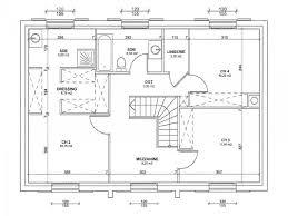 plan de maison avec cuisine ouverte plan étage pantheon 128 cette maison r 1 moderne avec fronton