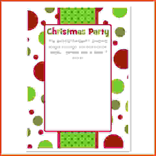 christmas party invitation template 12 christmas party invitation template sponsorship letter