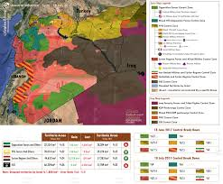Syria War Map by Syria Updated Control U0026 Influence Map July 2017 World In War
