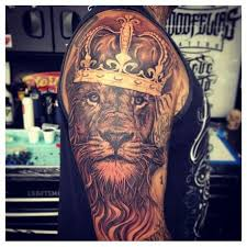 crown tattoos for design ideas for guys