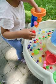 Water Table Toddler Water Table U0026 Pom Poms U2013 Happy Toddler Playtime