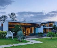 Home Exterior Design Delhi A Sleek Modern Home With Indian Sensibilities And An Interior