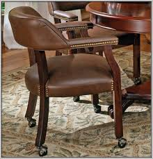 Upholstered Dining Room Chairs With Casters Chairs  Home - Dining room chairs with rollers
