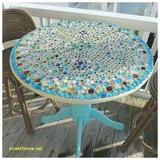 Mosaic Patio Table And Chairs Mosaic Patio Table For Mosaic End Tables Mosaic End Table Outdoor