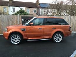 orange range rover now sold similar cars wanted land rover range rover sport 4 2 v8