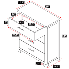nara 4 drawer dresser epoch design
