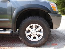 nissan titan oem wheels largest tire for 17
