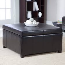 ottoman exquisite upholstered coffee table storage bench ottoman