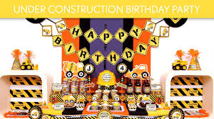 construction party ideas construction birthday party ideas construction b109