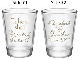 wedding favor glasses 120 wedding favors personalized glasses custom new take a