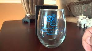 personalized stemless wine glass wedding favors by newfavors com