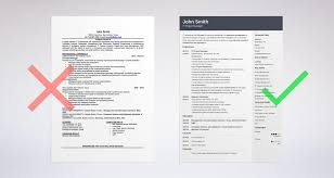 Resume Templates Good Or Bad by Word Vs Pdf Resume What Is The Best Resume Format