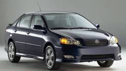 toyota corolla xrs 2008 2005 toyota corolla xrs 4dr sedan specs and prices