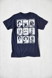 class of 77 wars t shirt outfitters wars class of 77 in blue for men lyst