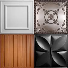 Ceiling Tiles and Ceiling Panels