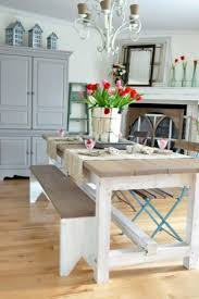 gray dining table with bench traditional dining room with woodedn dining table and wooden bench