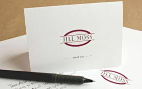 free staples customized thank you cards white template color