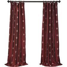 Teal Taffeta Curtains Faux Silk Taffeta Curtains Wayfair
