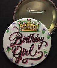 birthday girl pin birthday girl pin ebay
