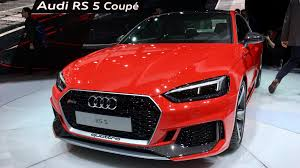 audi rs5 coupe 2017 audi rs5 coupe revealed photos 1 of 39