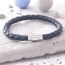 leather bracelet man images Men 39 s plaited leather bracelet by hurleyburley man jpg