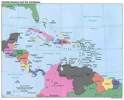 Blank Map Central America by Map Of Central America And Capitals U2013 America Map Intended For Map